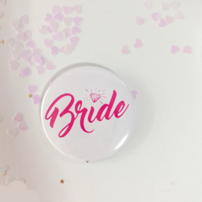 Team Bride / Bride Button